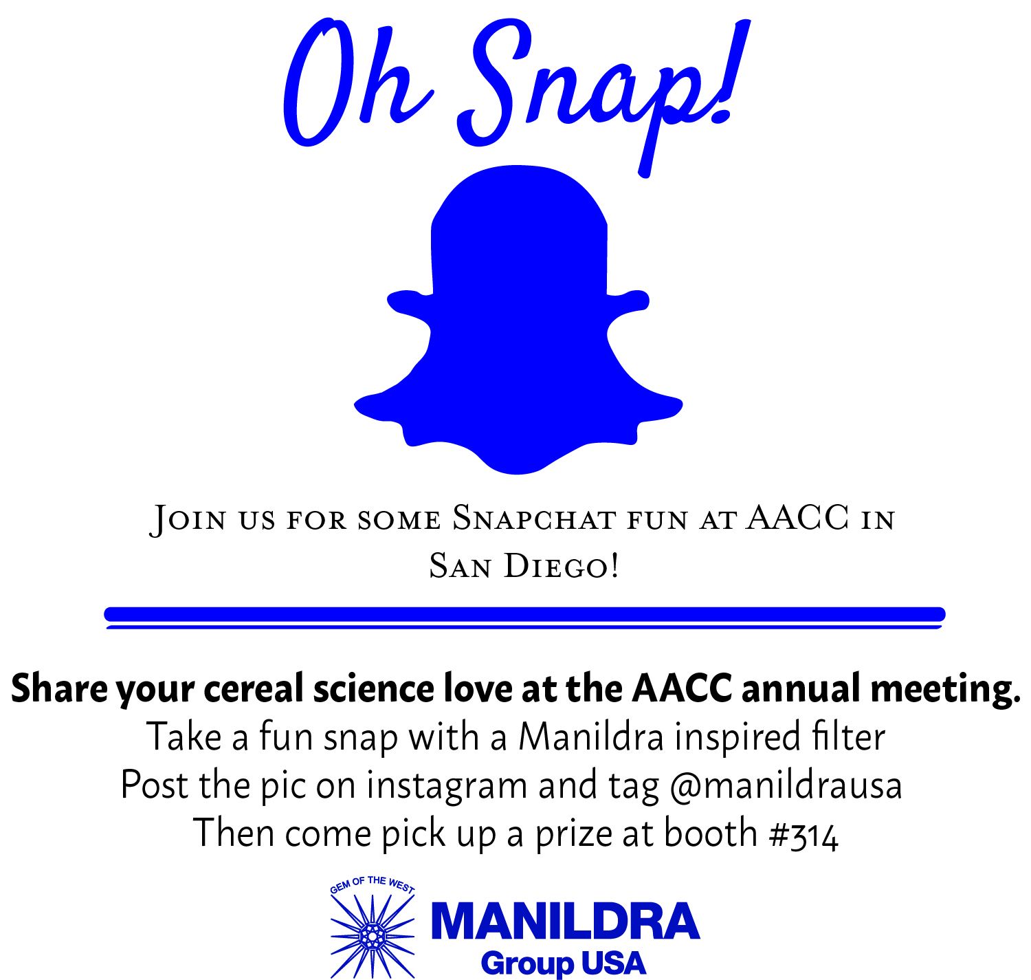 Snapchat at AACCI Annual Meeting
